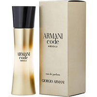 ARMANI CODE ABSOLU by Giorgio Armani EAU DE PARFUM SPRAY 1 OZ