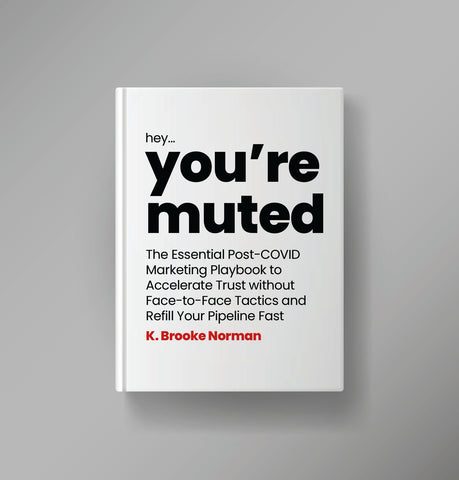 you're muted covid zoom call catchphrase book about marketing