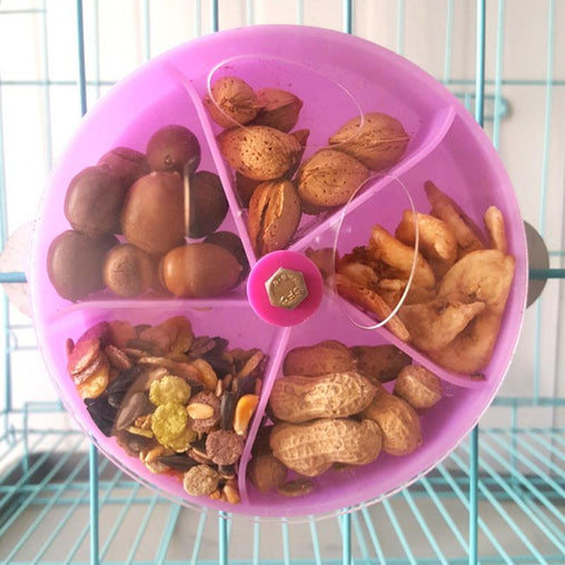 Bird Cage Feeder Wheel