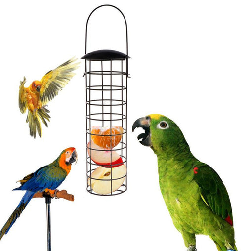 Hanging Bird Food Container