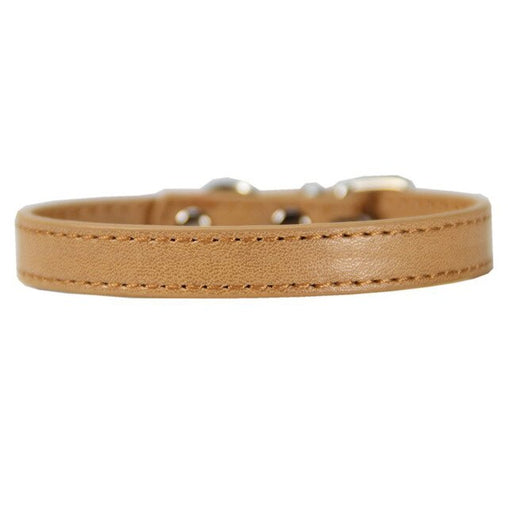 PU Leather Solid Dog Collar