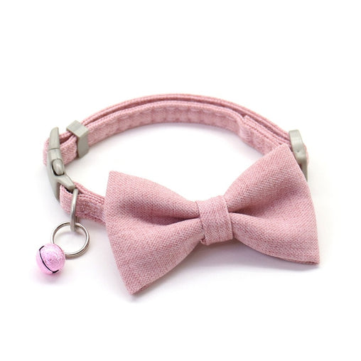 Cute Bow Cat Collar