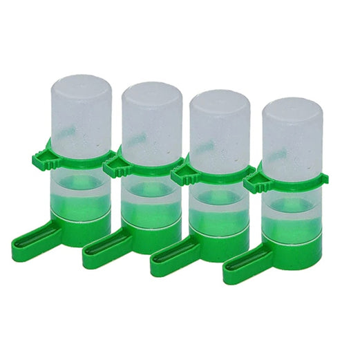 4 Pcs Pet Bird Water Dispenser