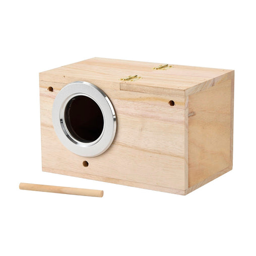 Wooden Bird Box Nest