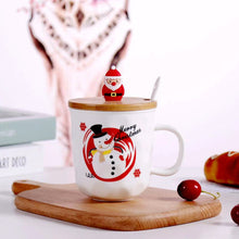 Load image into Gallery viewer, Ceramic Christmas Design Coffee Mug-SP20-0929