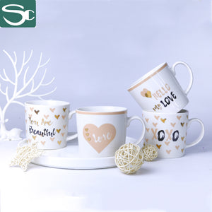 Little Heart Ceramic Mug-SP2020-039