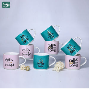 Stack Mug-Coffee,Smile,Hot,Coffee Time-SP2020-078