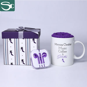 Gift Mug Set with Sock&earphone SP2020-130