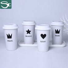 Load image into Gallery viewer, 400ml Ceramic Silk Screen PrintingMug-SP2020-229