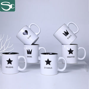400ml Ceramic Silk Screen PrintingMug-SP2020-229