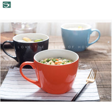 Load image into Gallery viewer, Ceramic Soup Noodles Mug- SP2020-404J