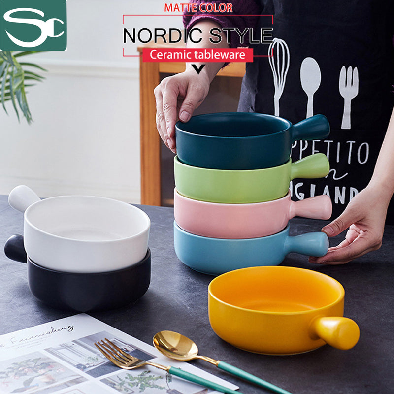 Nordic style ceramic tableware bowl- SP2020-428