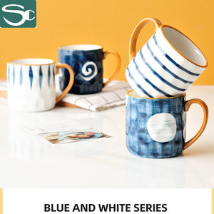 300ml Ceramic Hand Painting Mug SP2020-J03