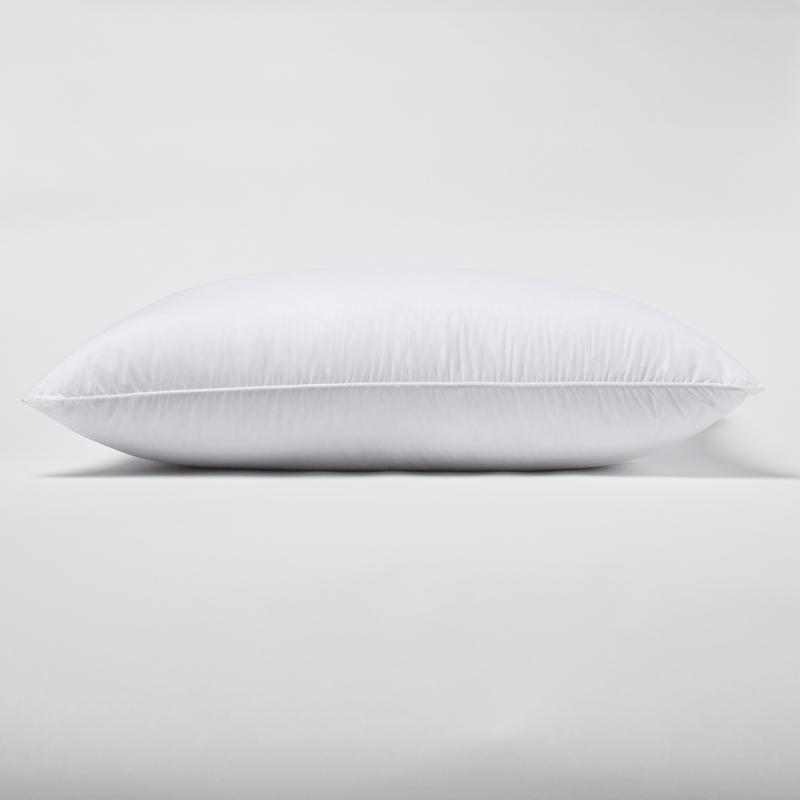 Down filled pillow