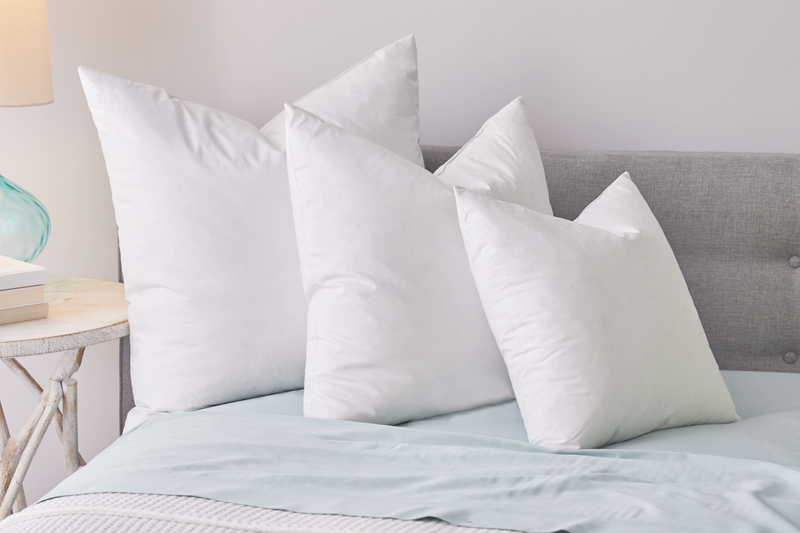 Feather Pillow Insert - Sanctuary Home