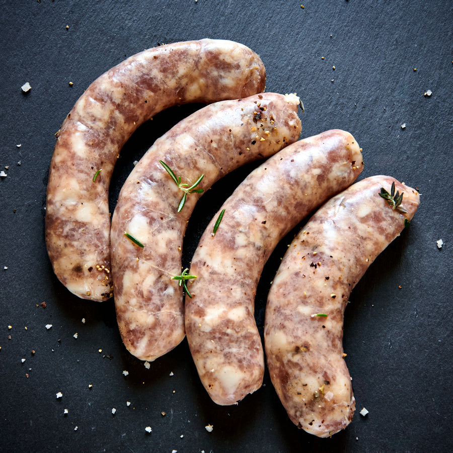Fresh Alsatian Sausages (4 links) - Heritage Pork