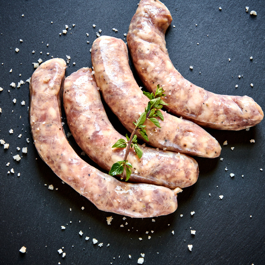 Fresh Toulouse Sausages (4 links) - Heritage Breed