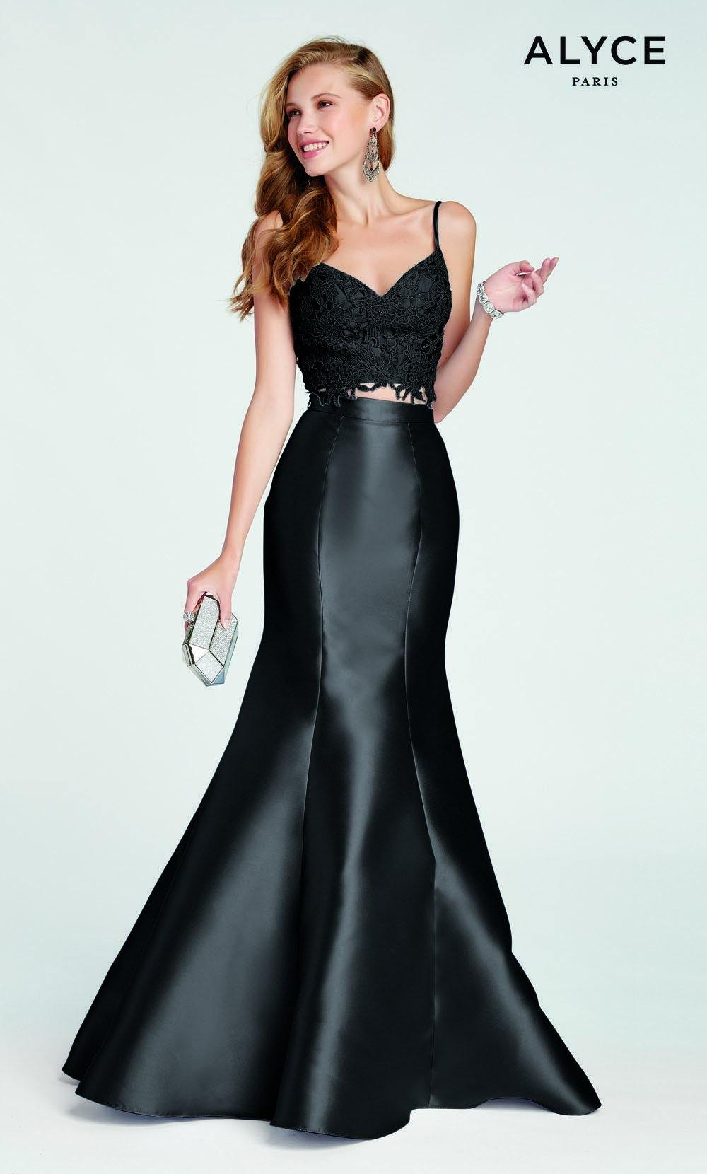 Formal Dress: 1408. Long, Sweetheart Neckline, Mermaid