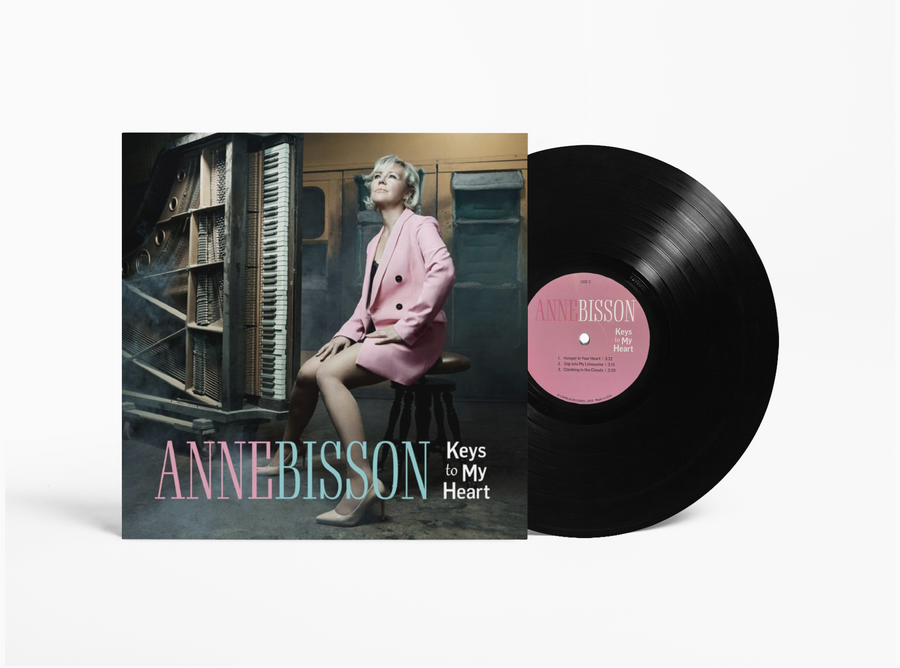 Anne Bisson - Keys to my Heart - Double LP Record - 45rpm - 180g