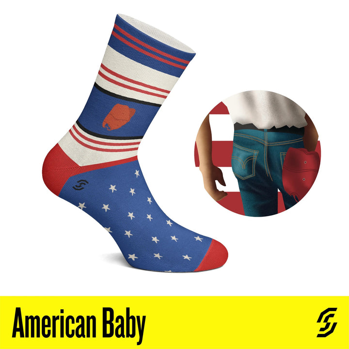 Bruce Springsteen Socks