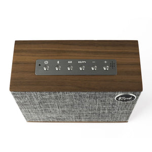 Klipsch Groove Heritage Wireless Bluetooth Speaker - Walnut