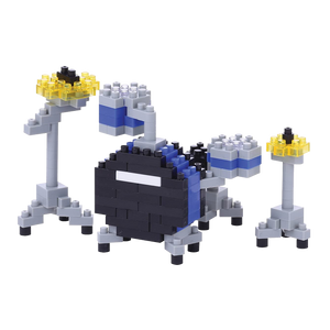 Nanoblock Blue Drum Set