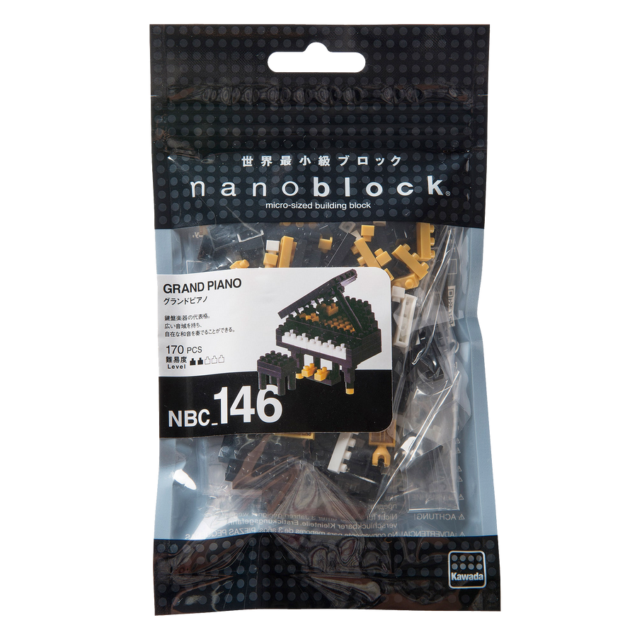 Nanoblock Grand Piano Black
