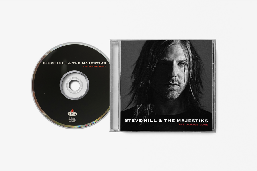 Steve Hill The Damage Done CD