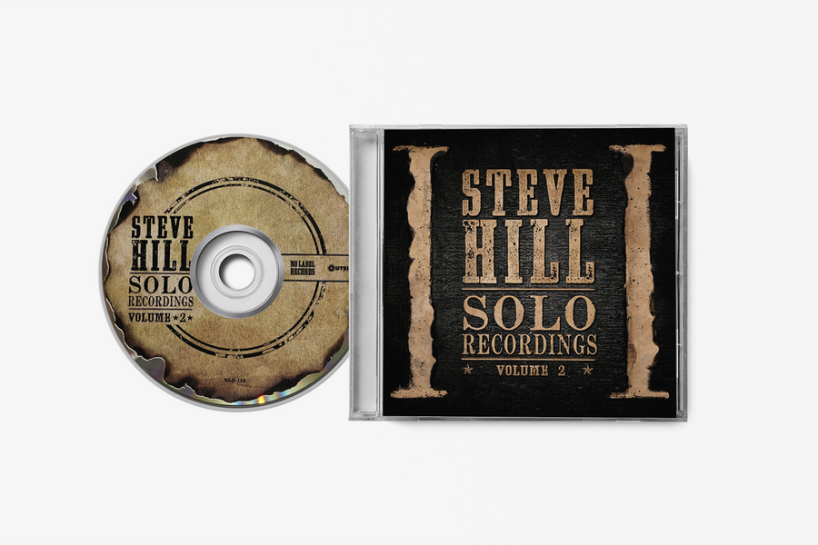 Steve Hill Solo Recordings Volume 2 - CD