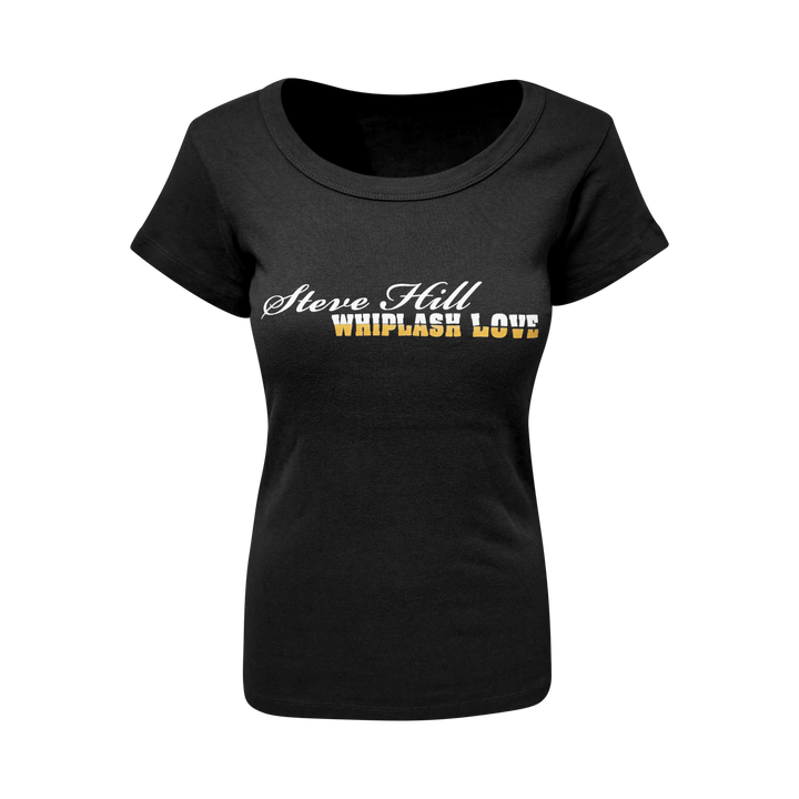 Steve Hill Whiplash Love - T-Shirt Black - Women