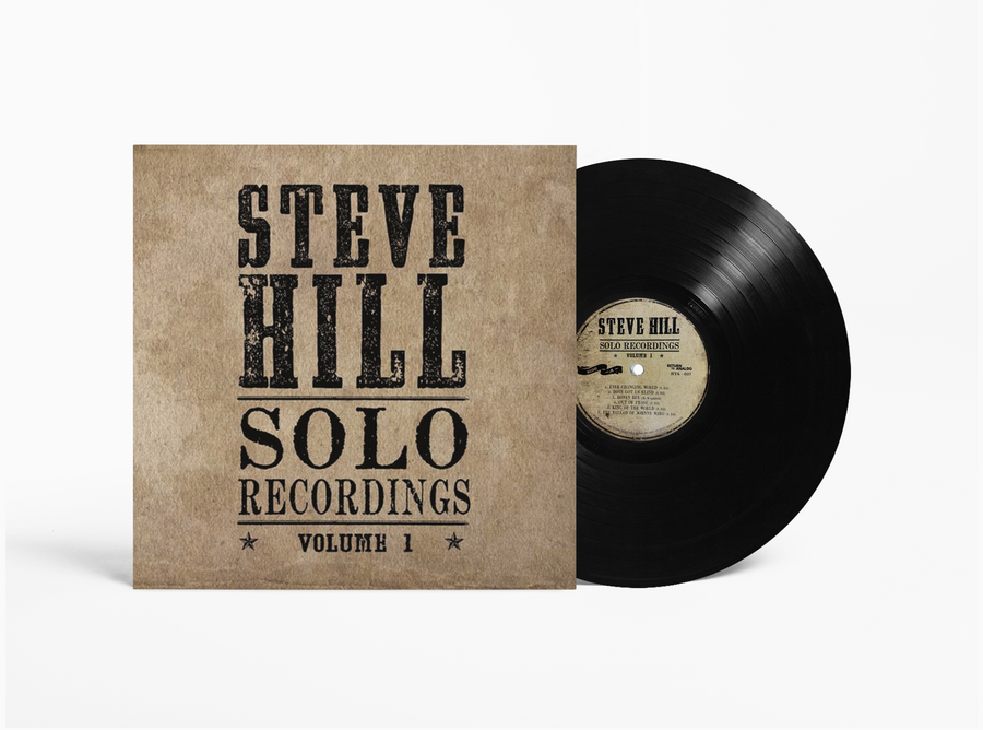 Steve Hill Solo Recordings Volume 1 - Vinyl Record