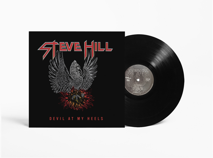 Steve Hill At My Heels - Vinyl Record