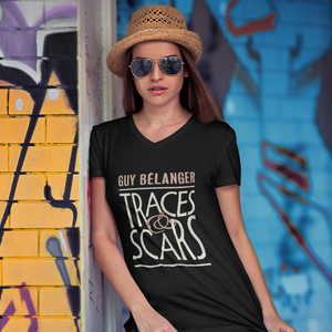 Guy Bélanger - Traces & Scars Women T-Shirt - Black