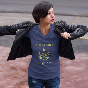 Guy Bélanger - Eldorado Women T-Shirt - Blue