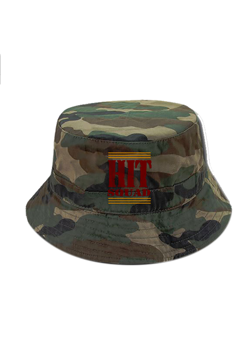 Hit Squad Camo Bucket Hat