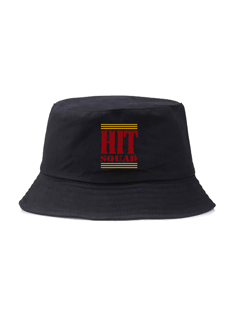 Hit Squad Black Bucket Hat