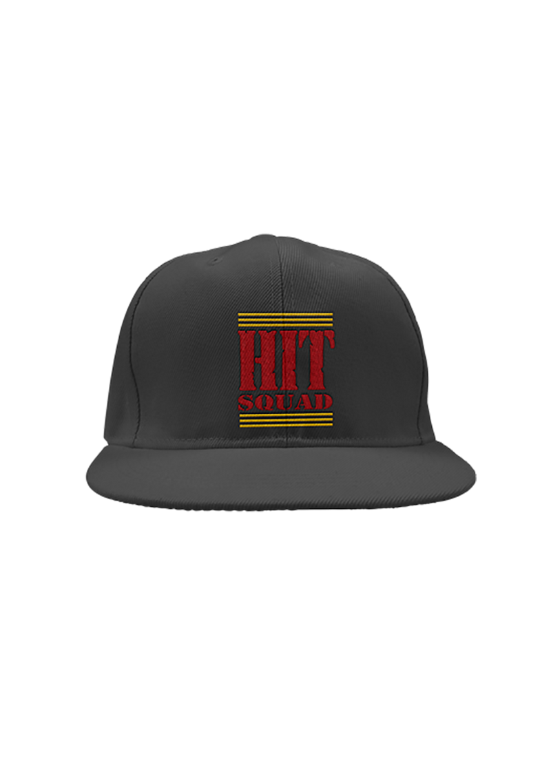 Hit Squad Black Snapback