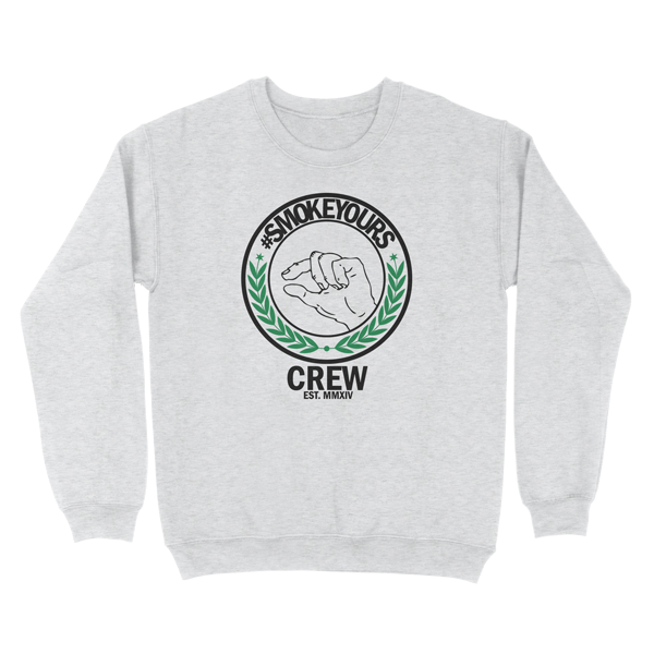 Smoke Yours Heather Gray Crewneck