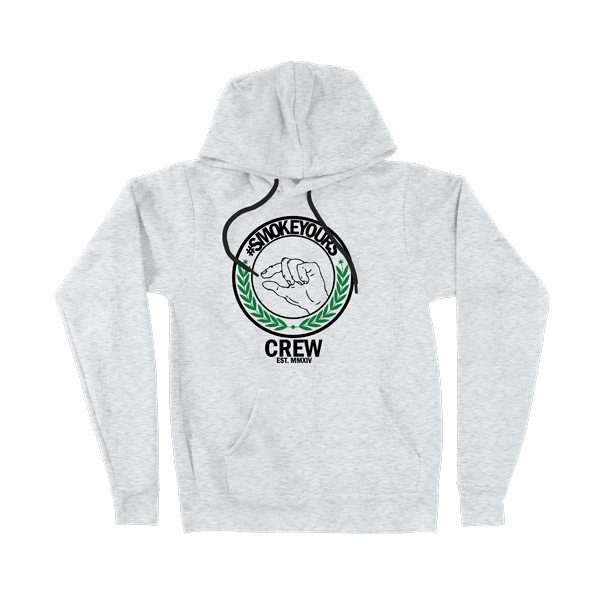 Smoke Yours Heather Gray Hoodie