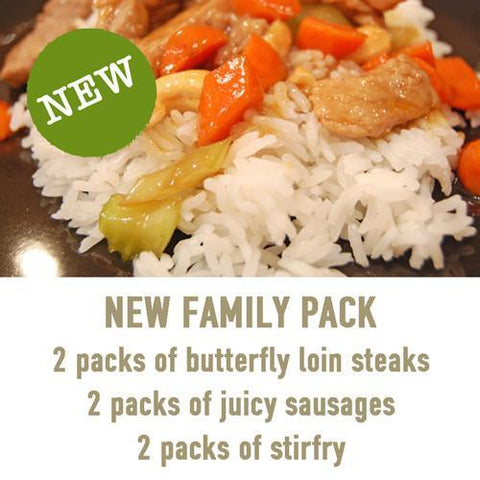 New Family Pack, Packs - Woody's Free Range Farm