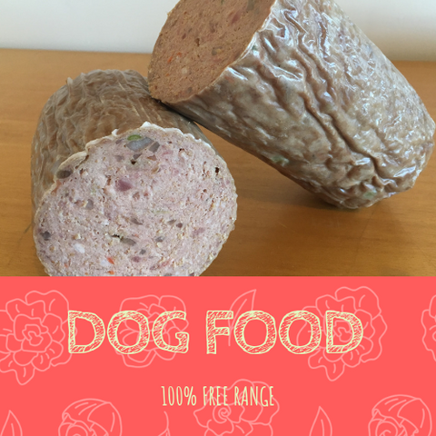 Dog Roll, Pet Food - Woody's Free Range Farm