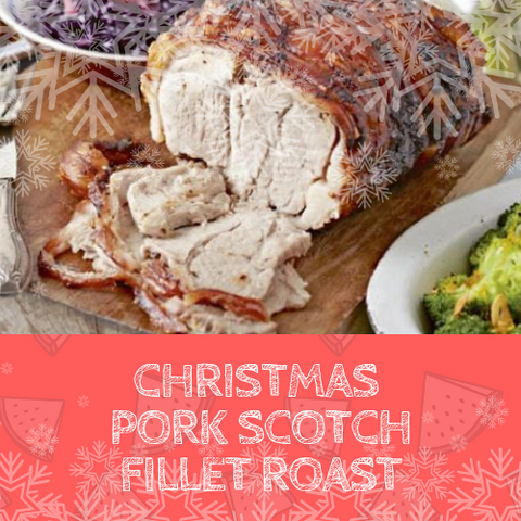 Christmas Pork Scotch Fillet Roast, Pork Cuts - Woody's Free Range Farm