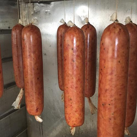 Dutch Salami, Ham - Woody's Free Range Farm