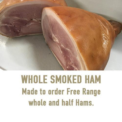 Whole Ham (bone in), Ham - Woody's Free Range Farm
