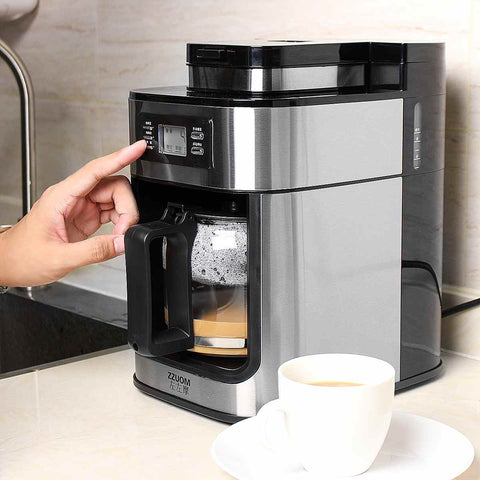 Electric Coffee Maker Machine Fully-Automatic Drip