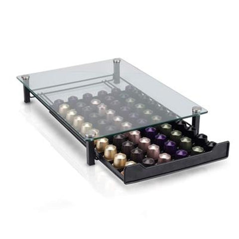Glass Nespresso Coffee Pod Drawer