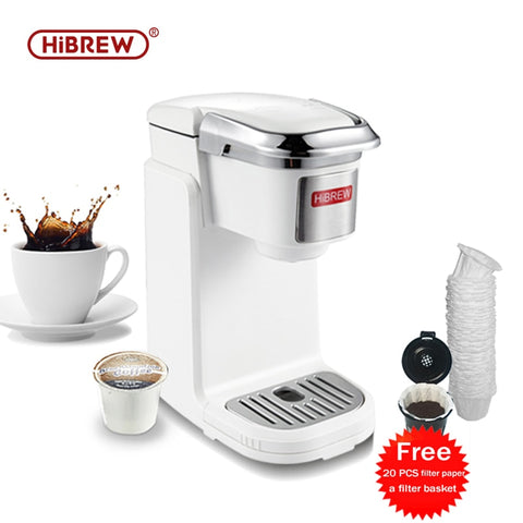 Single Serve Coffee Brewer for K-cup & Ground Coffee