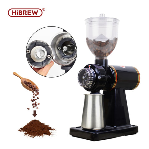 HiBRWE household electric coffee grinder mill espresso bean crush maker