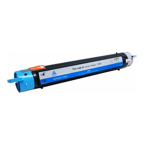Compatible Xerox 106R00672 High Capacity Cyan Toner Cartridge, 8K Yield By Express Toner