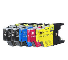 COMPATIBLE -  BK, C, M, Y (Bulk Package-4 pcs LC75Bk, 2pcs each of LC75C,M,Y) Inkjet Cartridges - Combo, 600 YIELD